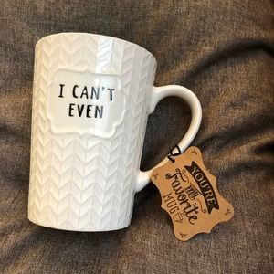 Roscher Other   Black And White I Cant Even Large Coffee Mug   Poshmark